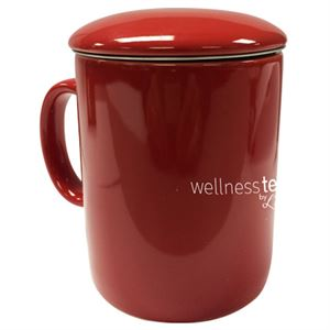 Picture of L'dara Infuser Red Mug with Lid